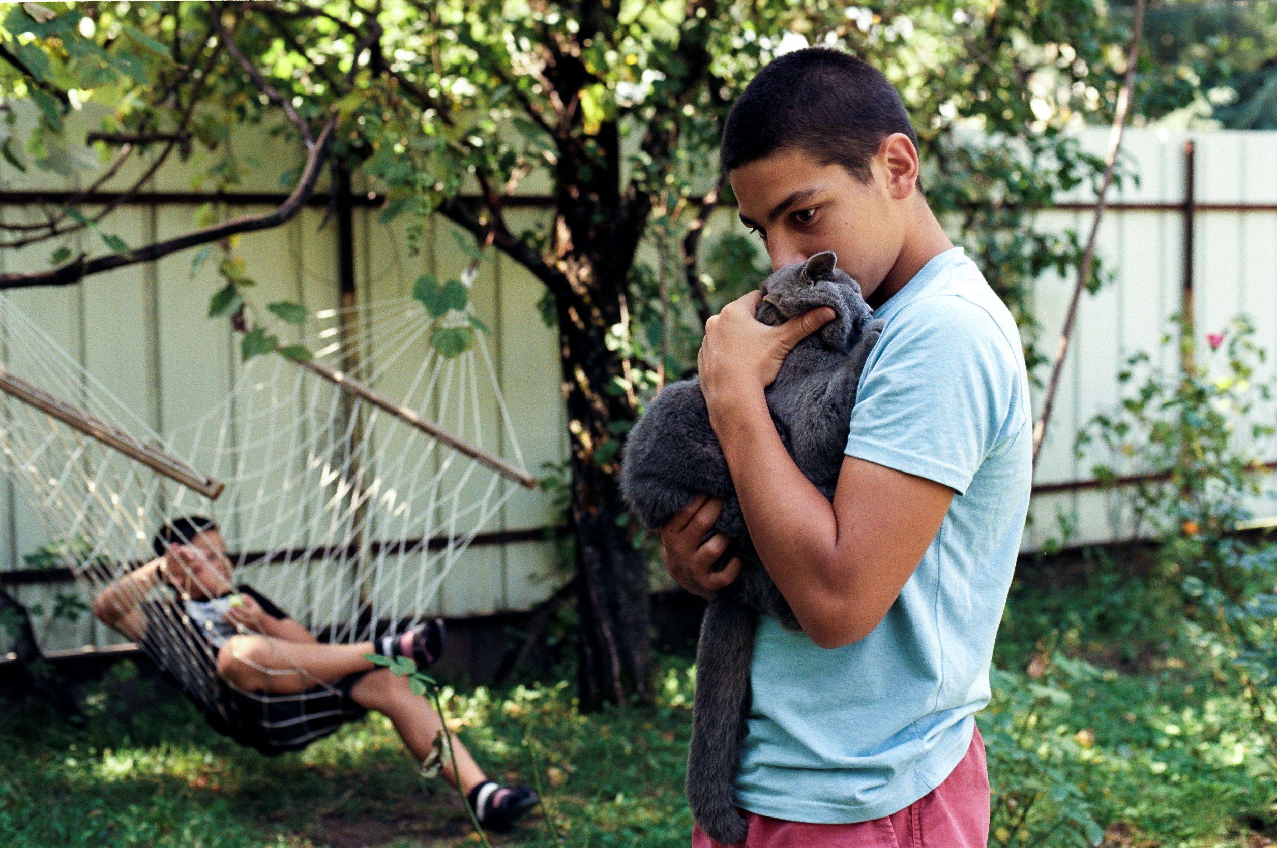 ეთო ამბობს, რომ მის შვილებზე ცხოველებმა მაშინვე დადებითი გავლენა მოახდინეს.