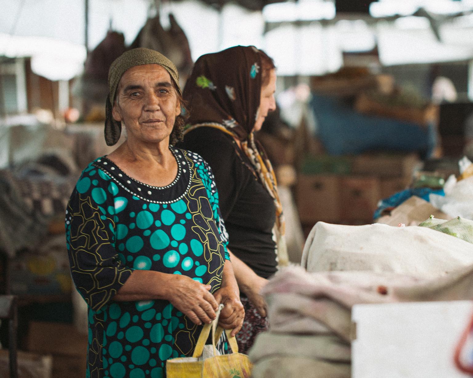 Nabat at the bazaar. Shaki, 2015