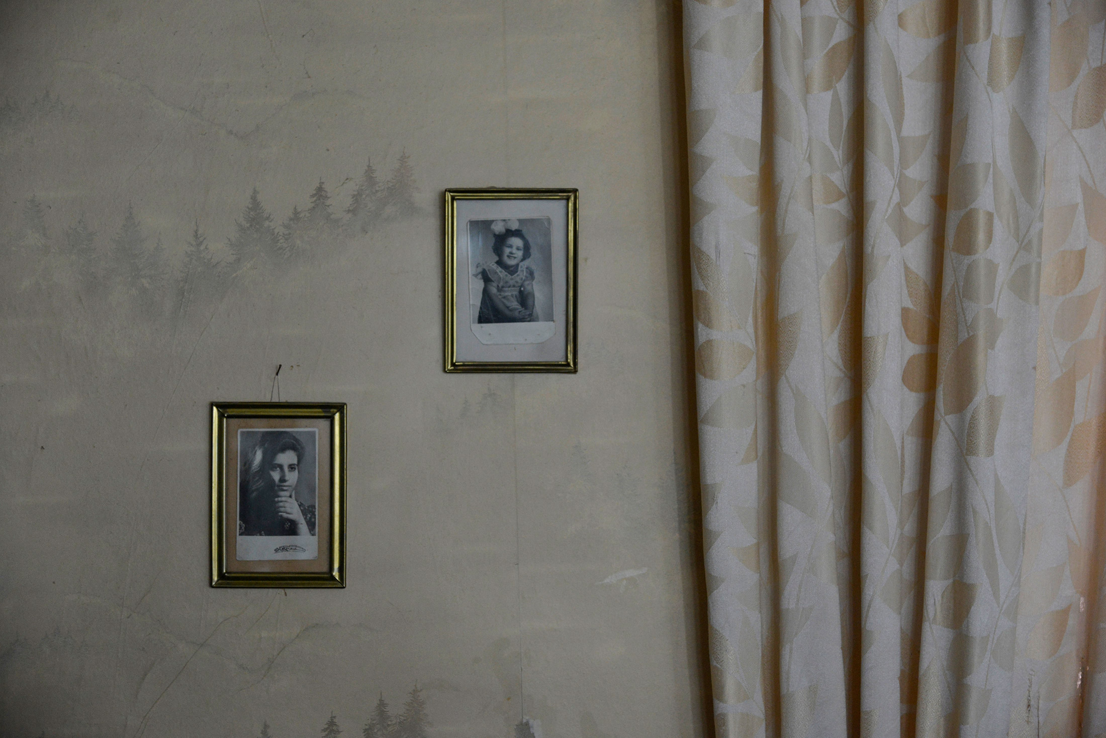 """The apartment of Margo Avetyan, one of Sveta's clients. """"I am taking care of 17 people. I live 17 di ..."""