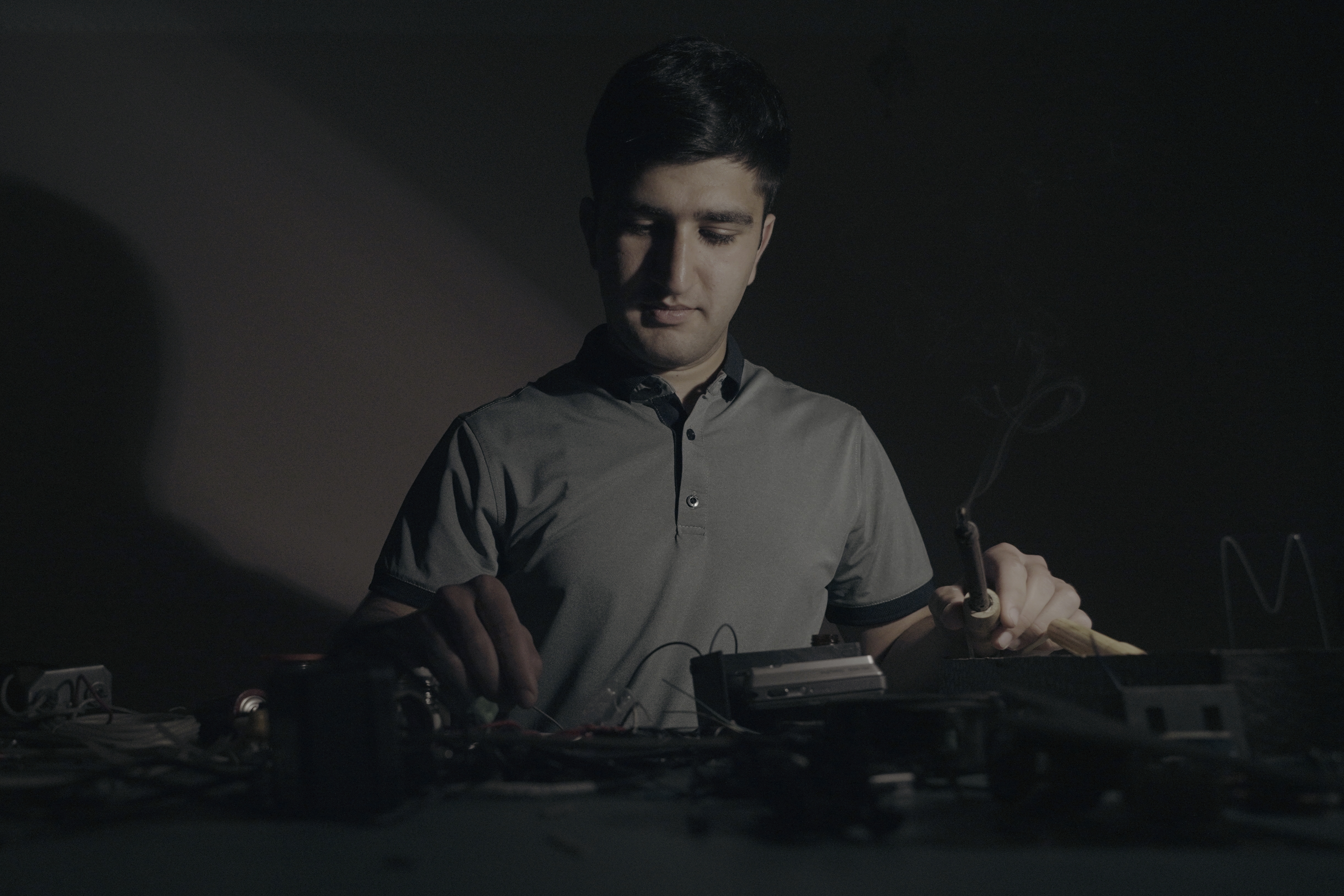 Mher says that while he cannot imagine his life without a computer, he hopes to use his skills to in ...