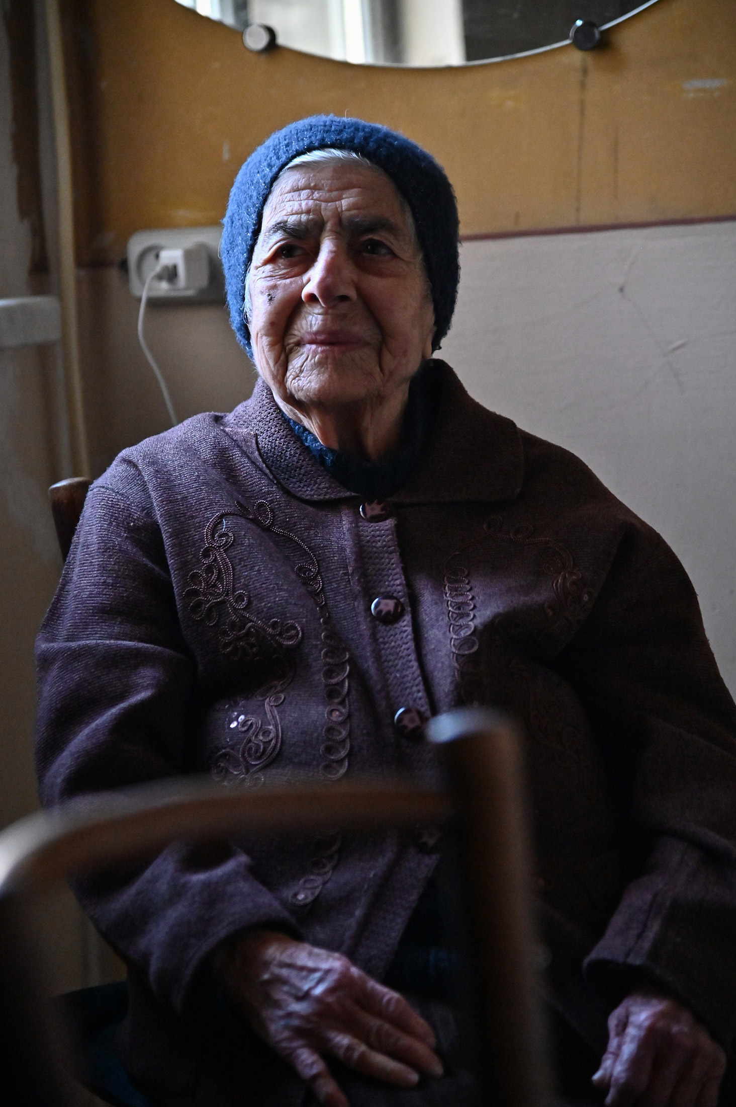 Alice Keshisyan, 94, has been a client of Sveta's for 26 years. Alice emigrated from Greece during t ...