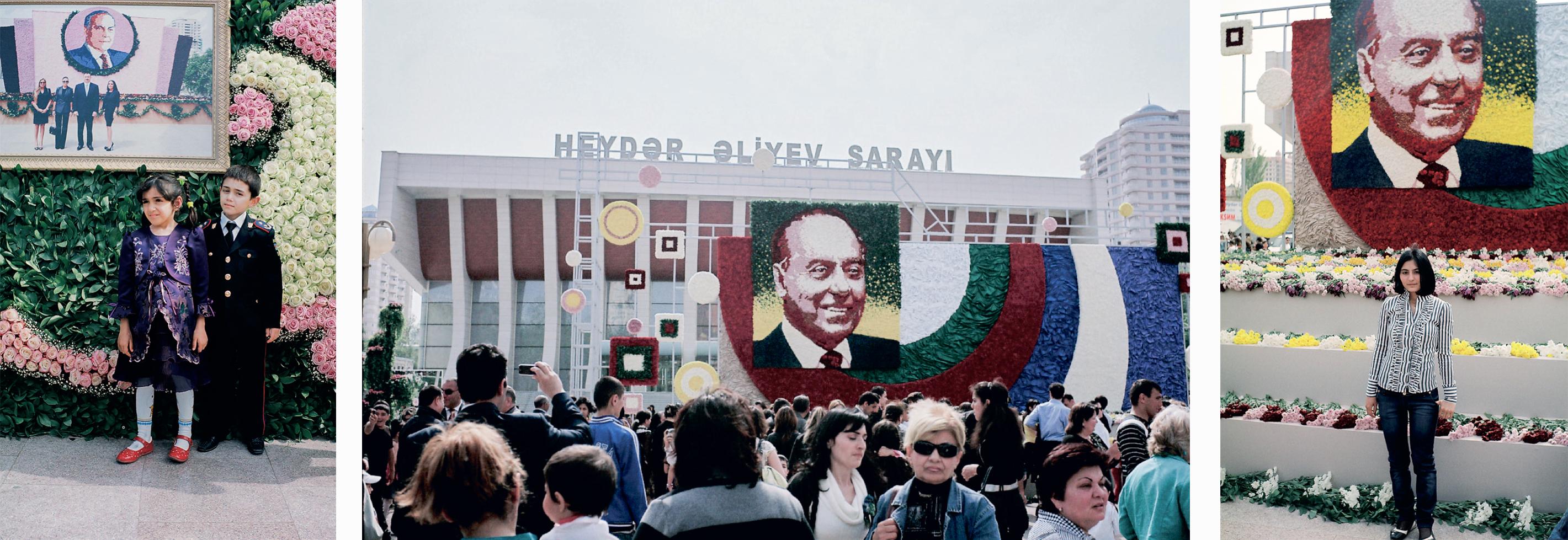 Flower Day, 2014 (Baku, Azerbaijan) Since 2004, Azerbaijan has celebrated the birthday of former Pre ...