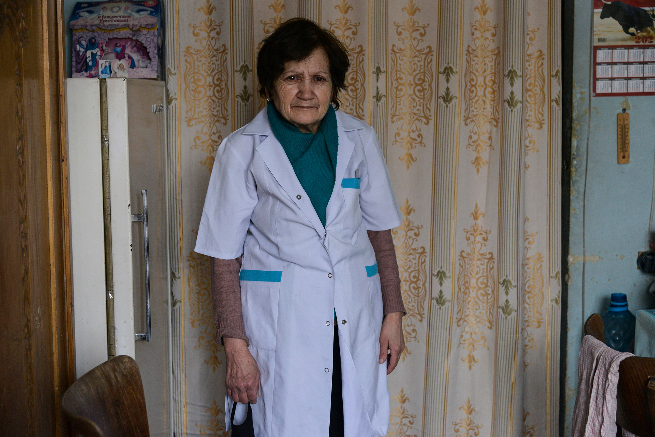 Sveta Khachatyran, 68, was a mathematician before the collapse of the Soviet Union. She worked at th ...