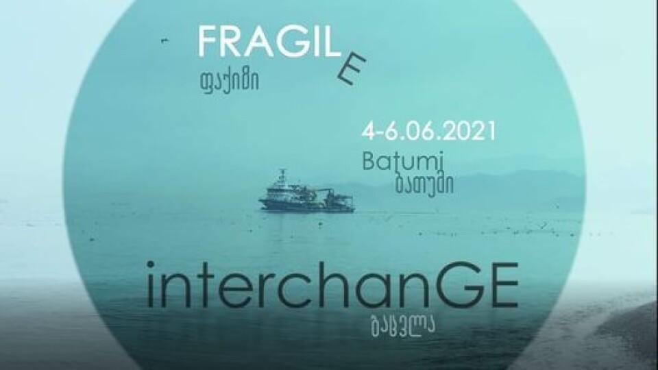 Work by Anna Dziapshipa and Mano Svanidze at InterchanGE 2021